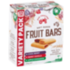 SOFT BAKED FRUIT BARS VARIETY PACK