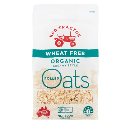 WHEAT FREE ORGANIC ROLLED OATS