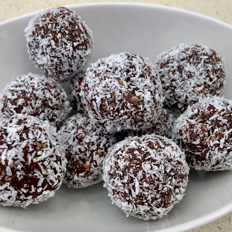 Chocolate Almond Bliss Balls