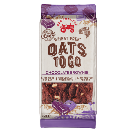 WHEAT FREE OATS TO GO CHOCOLATE BROWNIE