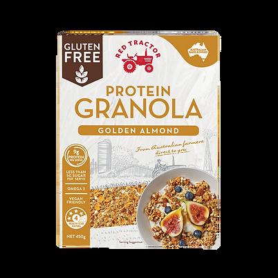 GLUTEN FREE CRUNCHY GRANOLA GOLDEN ALMOND