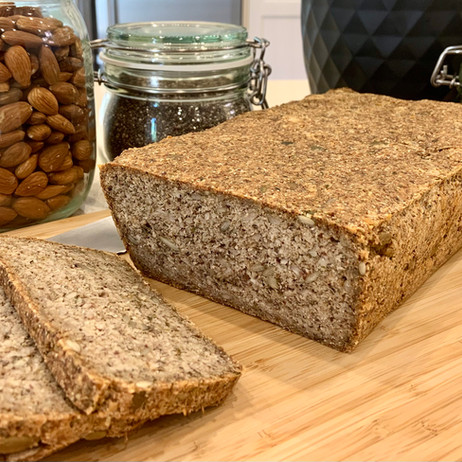 Paleo Nut & Seed Protein Loaf