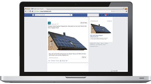 Facebook Solar Panels. Social Media for Solar Panel Contractors and Solar Panel Businesses