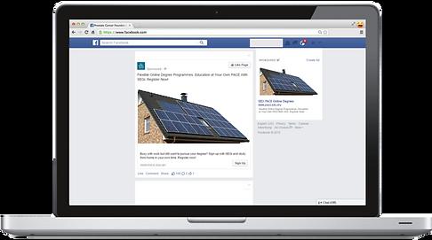 Facebook Solar Panels. Social Media for Solar Panel Contractors and Solar Panel Businesses