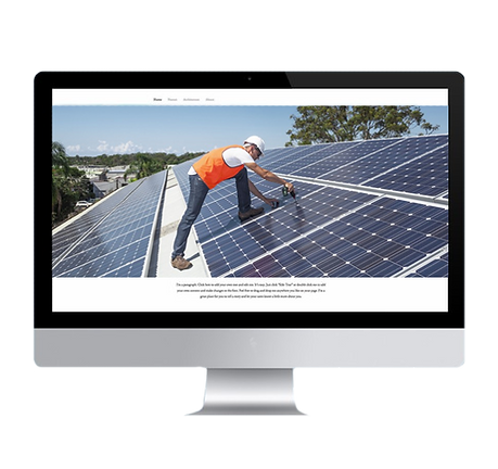 Solar Panel Website. Solar Panel Company Marketing Web Development Optimized. AdSearch Internet Marketing