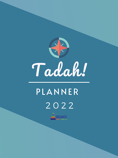 Tadah Planner with Coaching