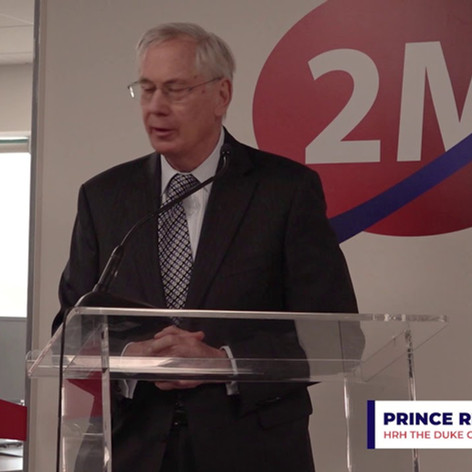 Prince Richard's speech from the Grand Opening of the New Office Building of 2M Holdings