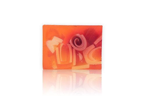 Natural Handmade Glycerine Soap GUAVA PAPAYA 100g
