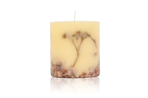 Handmade aroma candle FLOWERS