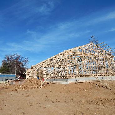 Building the new GK Meyer Construction workshop near Leslie, Missouri