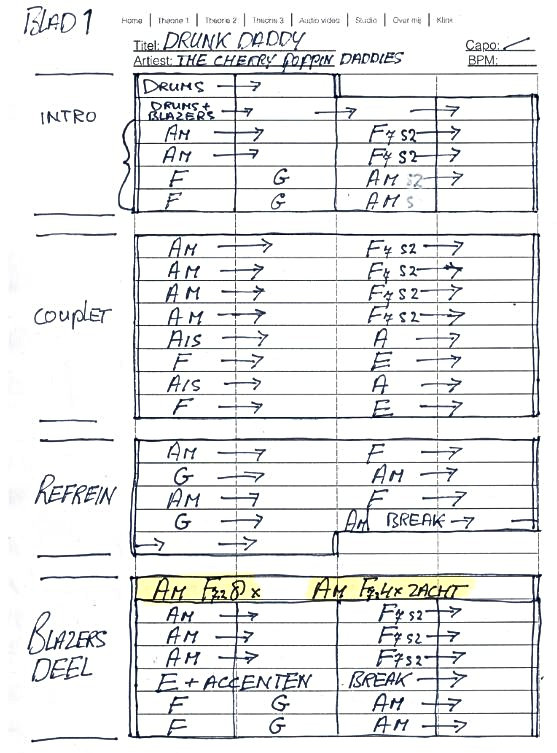 voorbeeld pagina vakjes invullen met pen