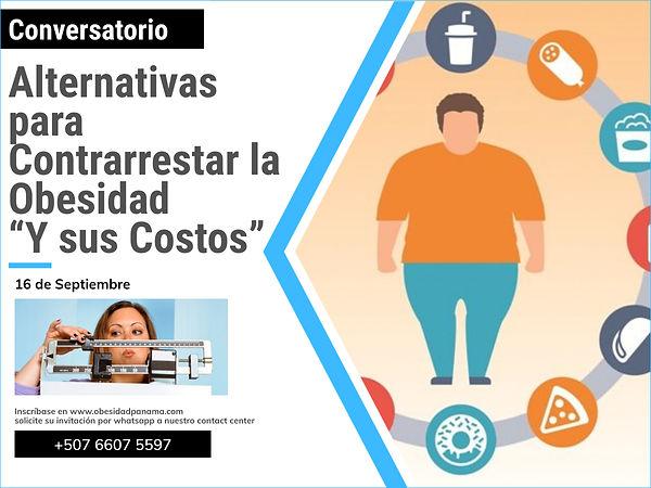 """Alternativas para Contrarrestar la Obesidad """"Y sus Costos"""""""