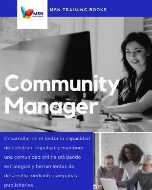 Community Manager, MSN Training Books, Desarrollo Multimedia