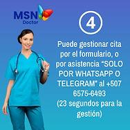 Directorio de Especialidades Médicas MSN Doctor