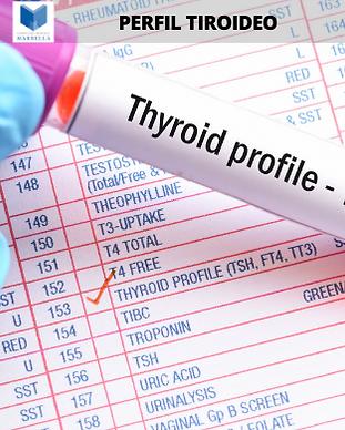 Perfil Tiroideo, Campaña Prevención, Complejo Médico Marbella