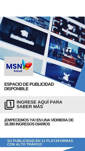 Espacio de Publicidad Disponible, MSN Salud Noticias