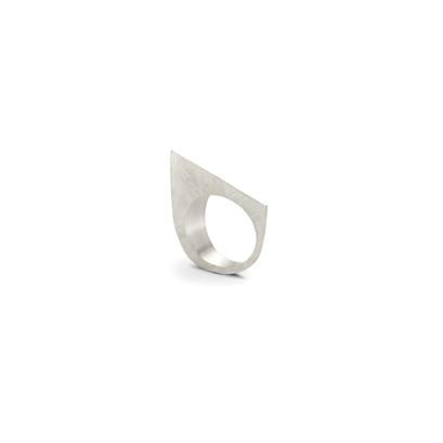 Geometrical Silver Ring