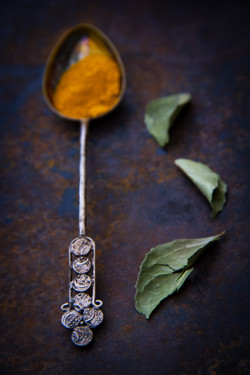 Turmeric and Leaves 1