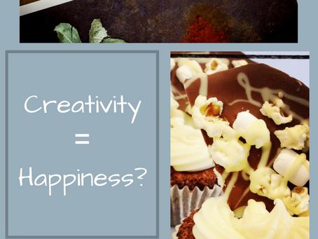 Creativity = Happiness?