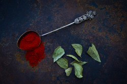 Paprika and Leaves