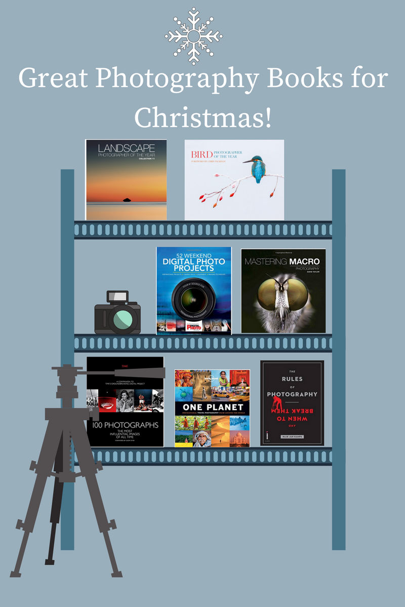 Great Photography Books For Christmas