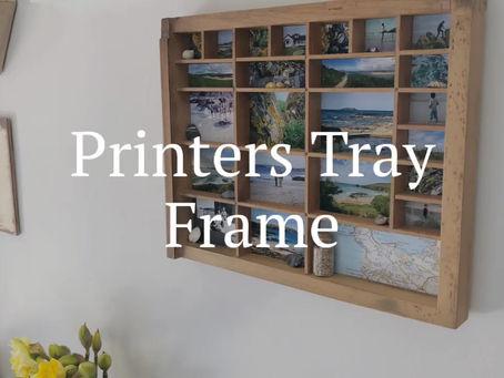 Printers Tray Frame Tutorial
