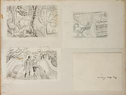 Eric Ravilious Scrapbook detail