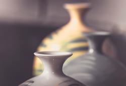 Ceramic vases by Nicholas Howard