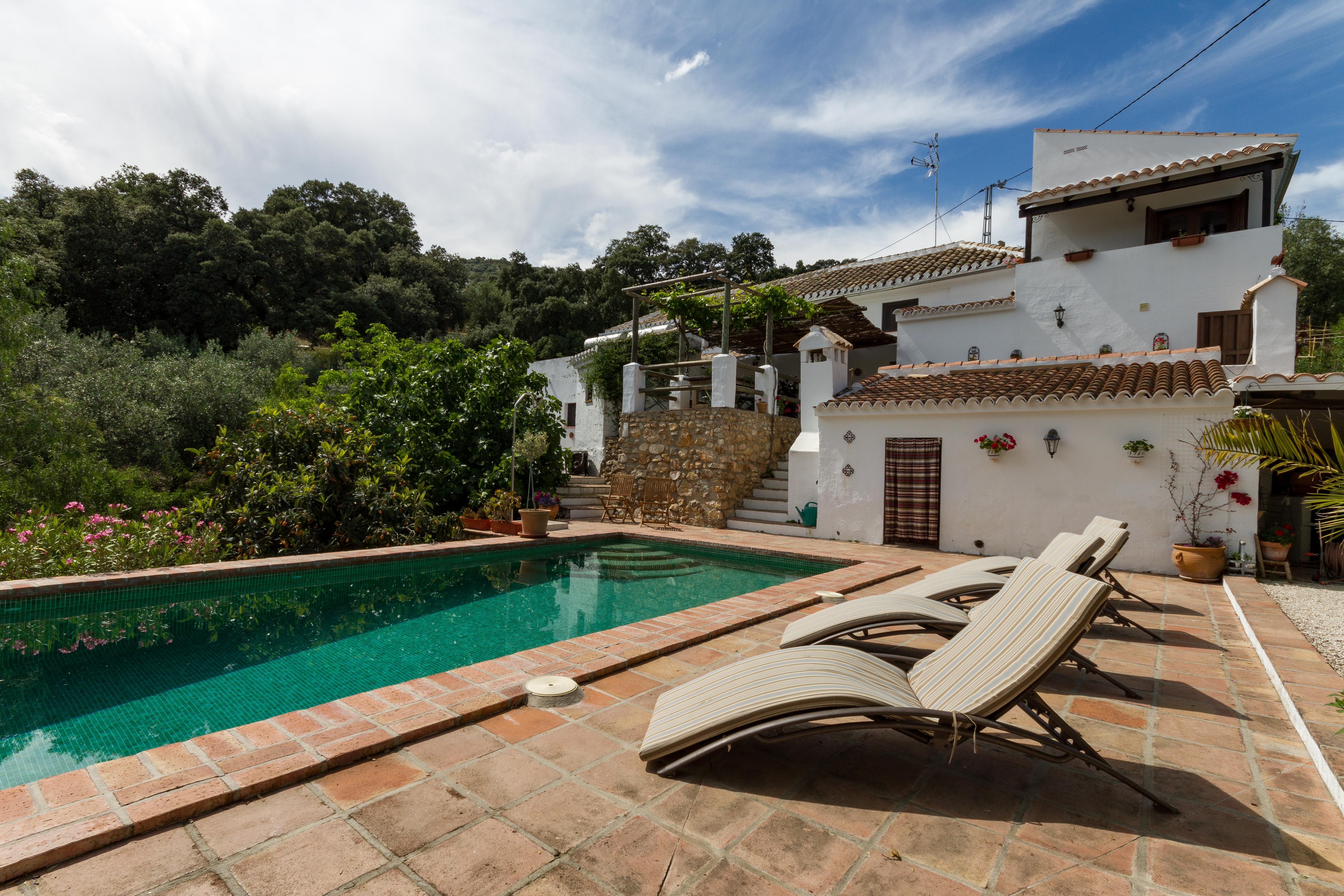 Finca Las Encinas, Andalusia, Spain