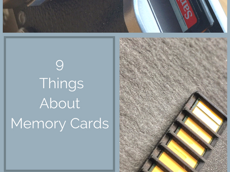 9 Things to Know about Buying and Using Memory Cards