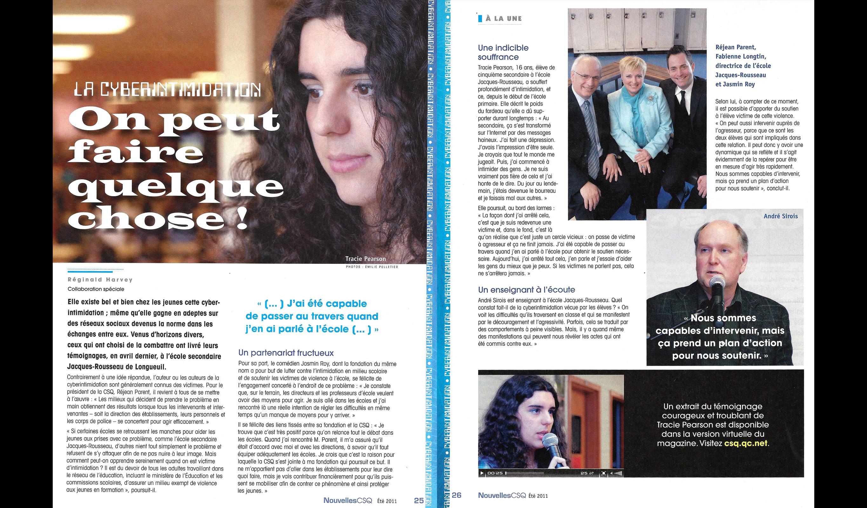 Magazine Nouvelles CSQ