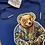 Thumbnail: Royal midnight blue biggie bear sweatsuit