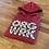 Thumbnail: Red GG print ORG hoodie