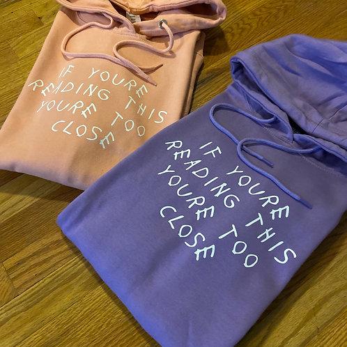 "Peach & Lavender "" TOO CLOSE"" pack"