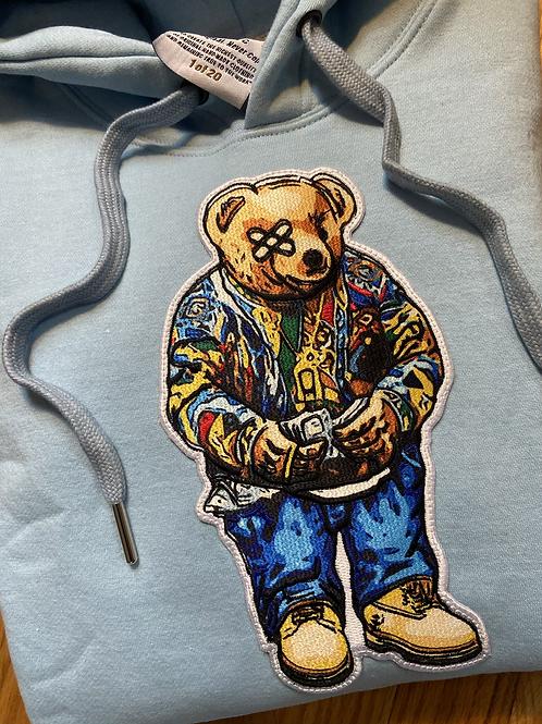 Powder blue Biggie bear