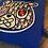 Thumbnail: Royal blue Dior Bear patch hoodie
