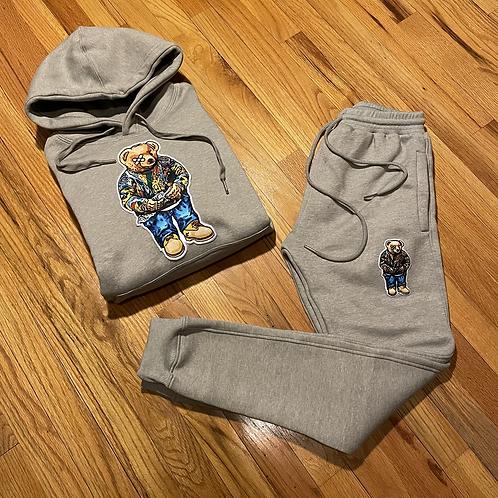 1 of 12 Grey biggie bear sweatsuit set