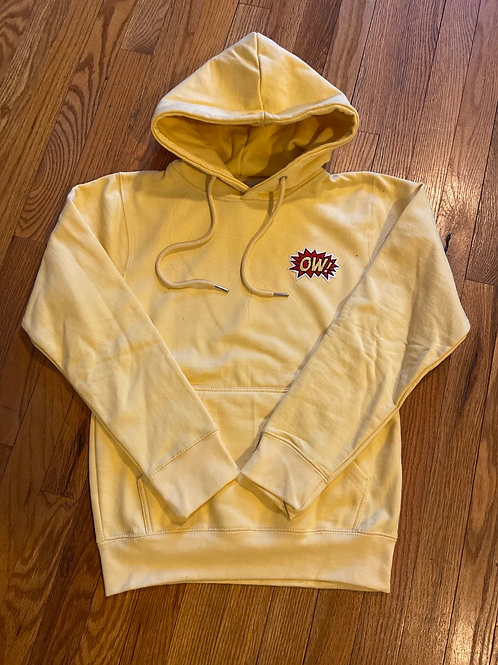 OW! Patched butter hoodie