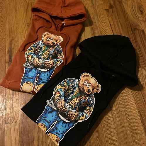 Black & Orange Biggie Bear pack