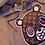 Thumbnail: Grey LV patch bear short Hoodie set