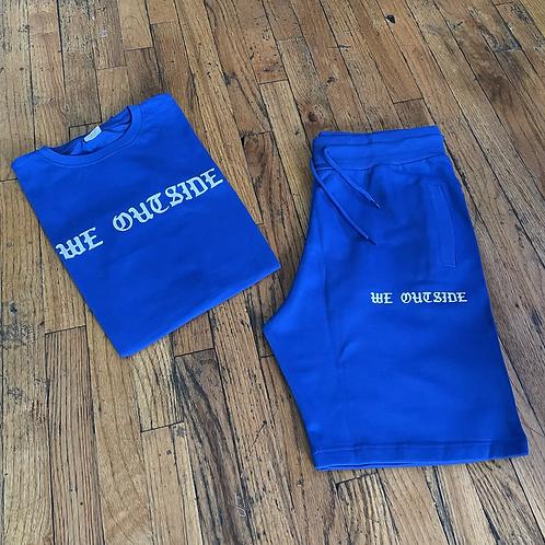 We Outside Royal blue set