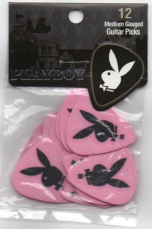 Palheta Playboy Pink pack com 12