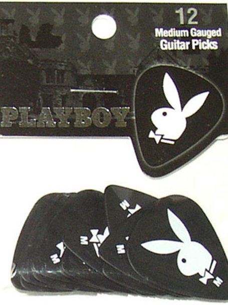 Palheta Playboy Black pack com 12