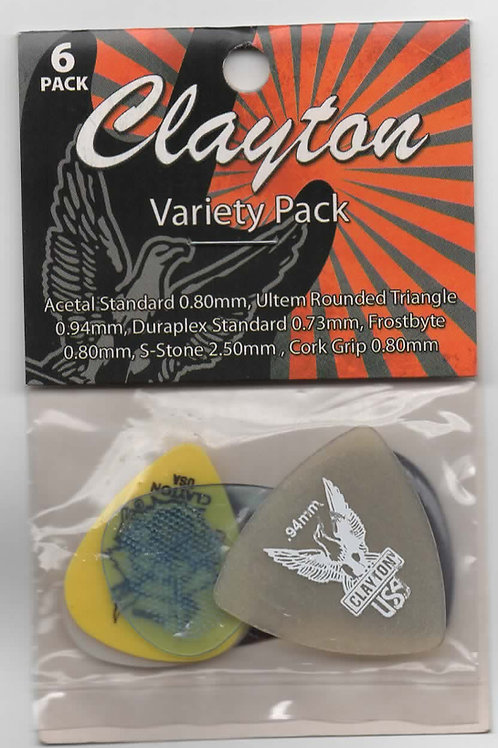 Kit Clayton Variety Pack com 6