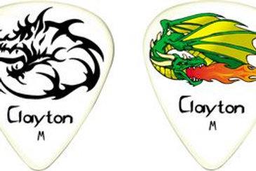 Palheta Fire Breathers Clayton pack com 12