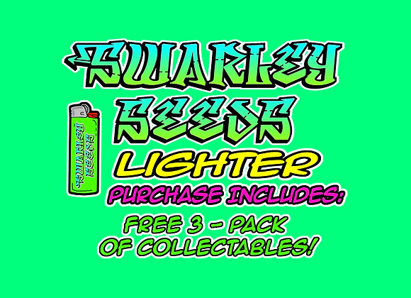 Swarley Seeds Lighter plus FREE 3-Pack of Collectables