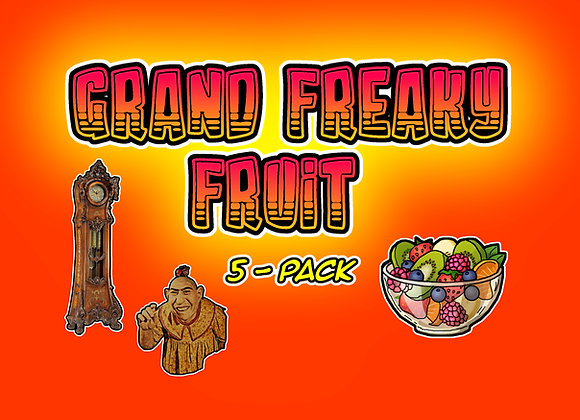 Grand Freaky Fruit 5-Pack Collectables