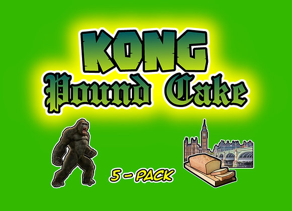 Kong Pound Cake 5-Pack Collectables