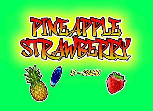 Pineapple Strawberry 5-Pack Collectables