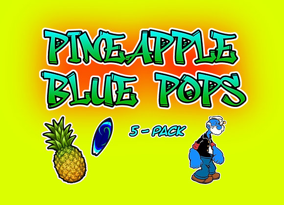 Pineapple Blue Pops 5-Pack Collectables